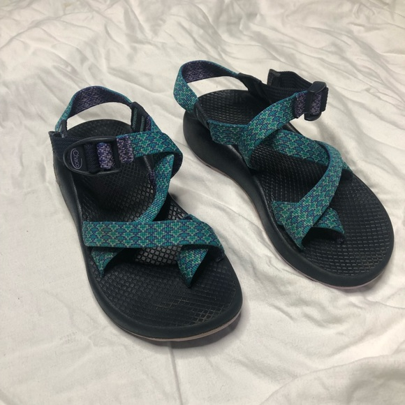 Multicolored Chaco Hiking Sandals